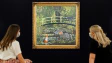 UK artist Banksy's version of Monet's garden masterpiece to go on sale