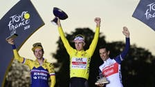 UAE wins Tour de France with star rider Tadej Pogacar, youngest champion in decades