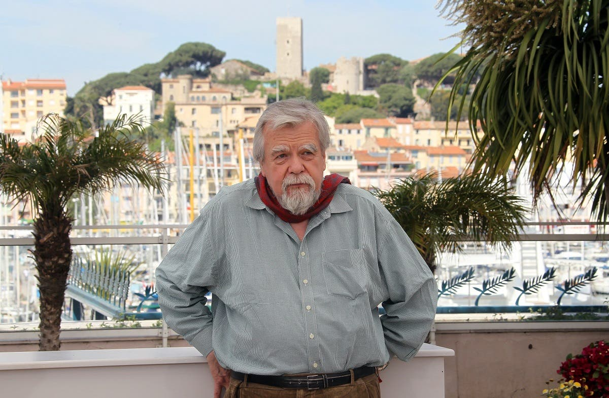 """In this file photo taken on May 18, 2010 in Cannes shows French actor Michael Lonsdale posing during the photocall of """"Des Hommes et des Dieux"""" (Of God and Men) presented in competition at the 63rd Cannes Film Festival. (AFP)"""