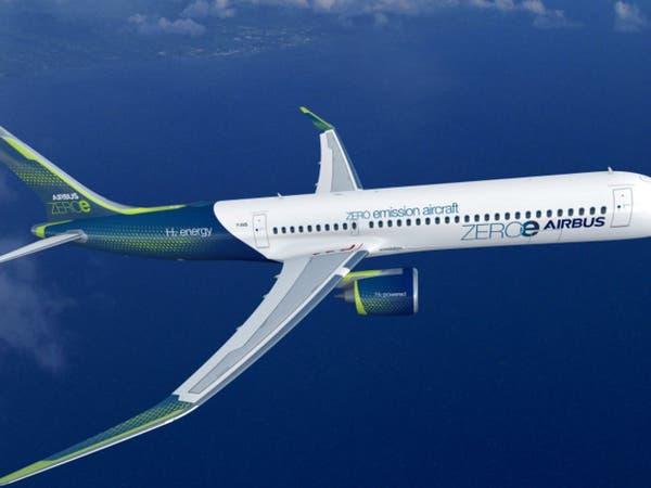 إيرباص تكشف النقاب عن 3 نماذج لأول طائرة دون انبعاثات