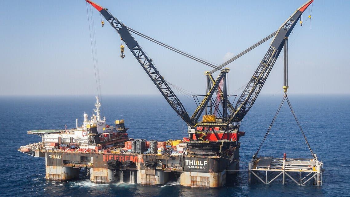 حقل غاز قبالة السواحل المصرية