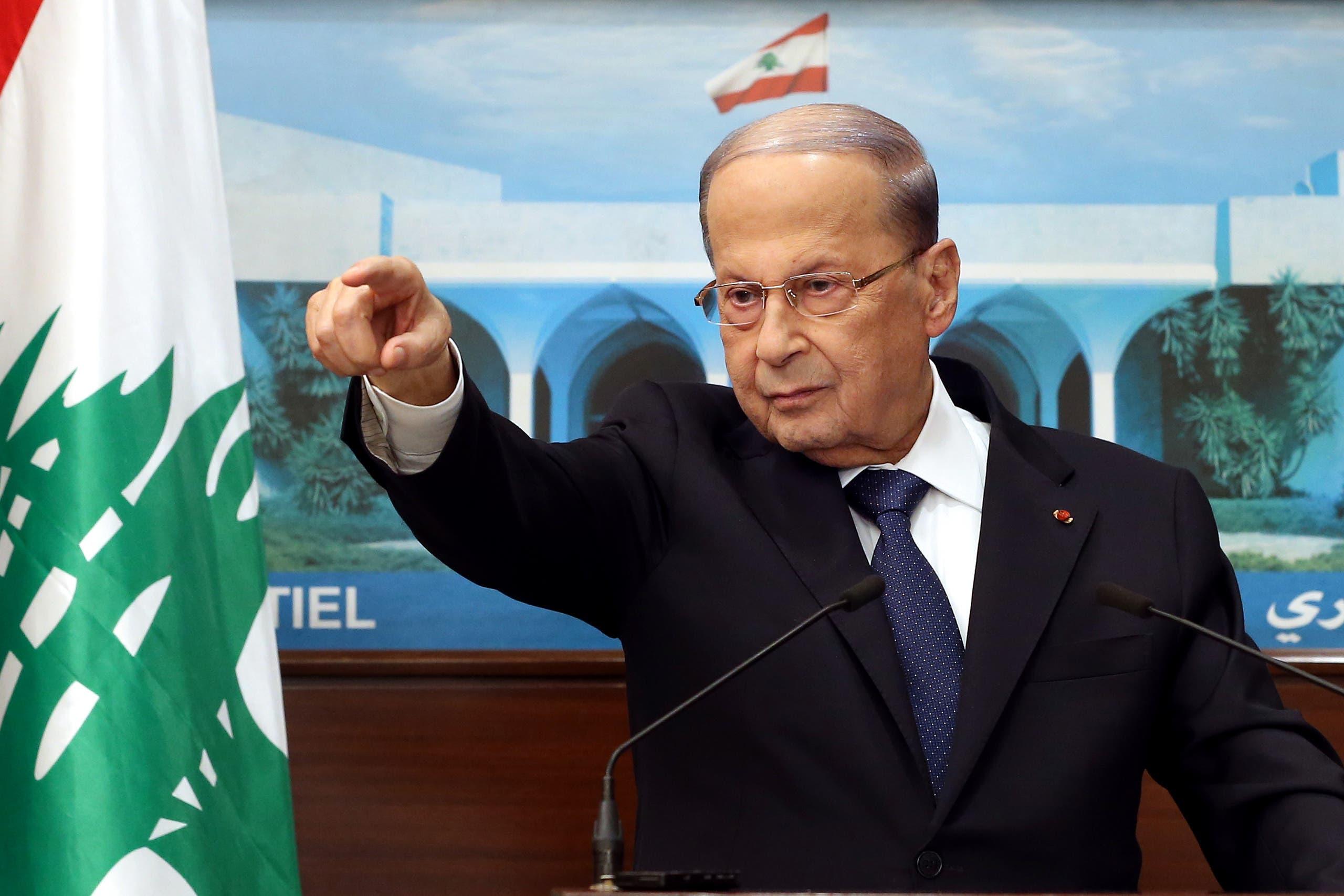 الرئيس اللبناني ميشال عون (فرانس برس)