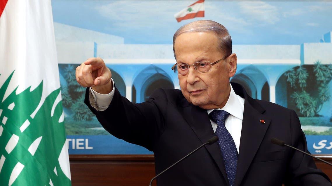 الرئيس اللبناني ميشال عون (فرانس برس(