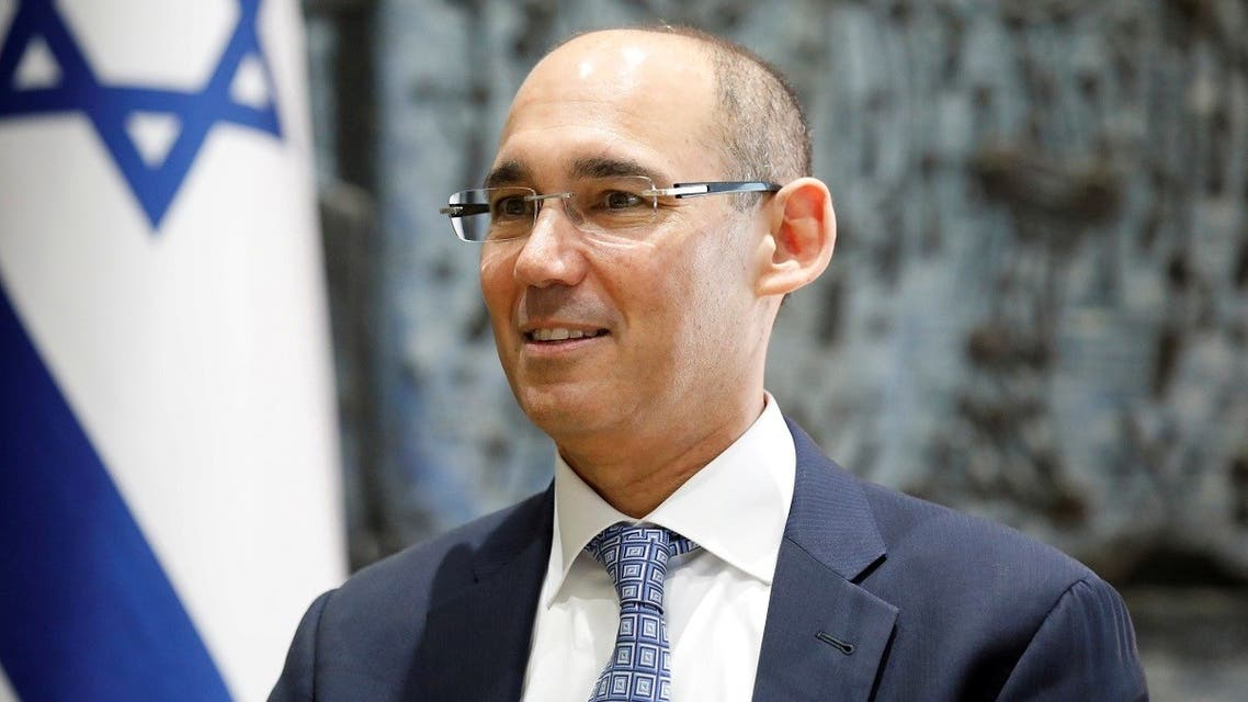 A file photo shows Amir Yaron attends a ceremony whereby he is sworn in as Bank of Israel governor in Jerusalem December 24, 2018. (Reuters)