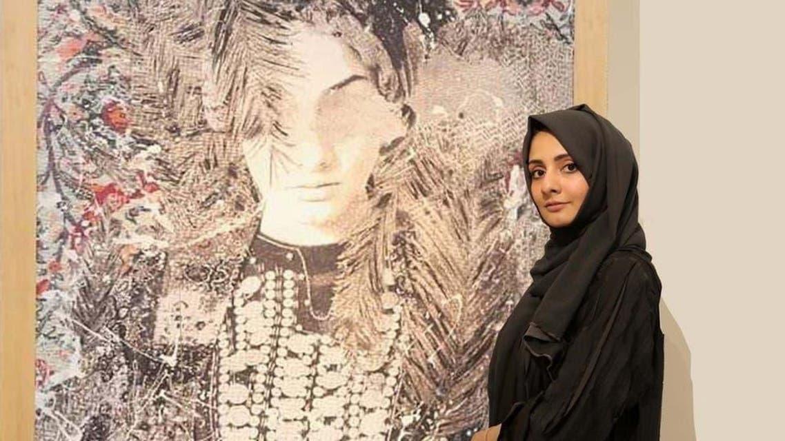 Saudi Artist Fatima Makes faces on Carpets