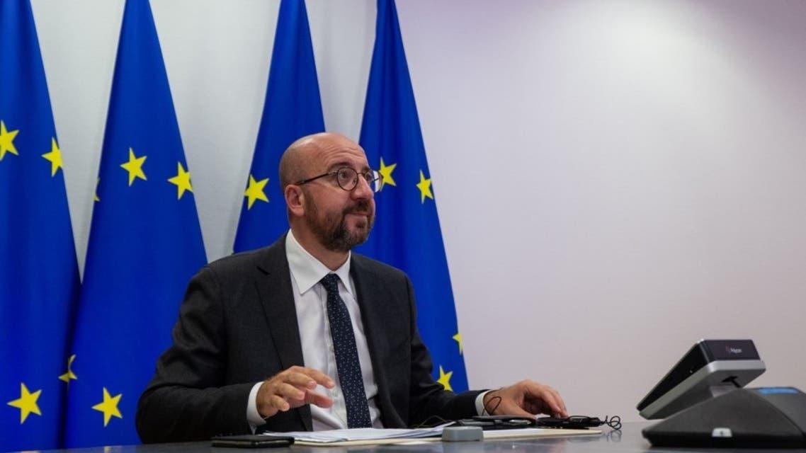 رئيس المجلس الأوروبي شارل ميشال