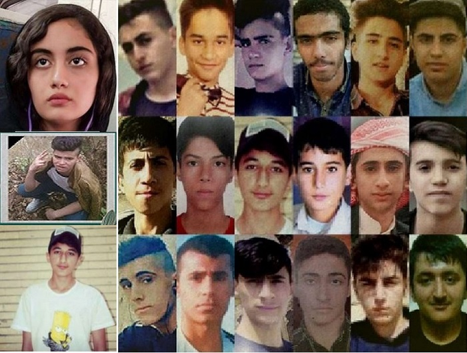 اعدام أطفال في إيران