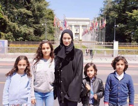 زوجة الشيخ طلال آل الثاني وأولاده
