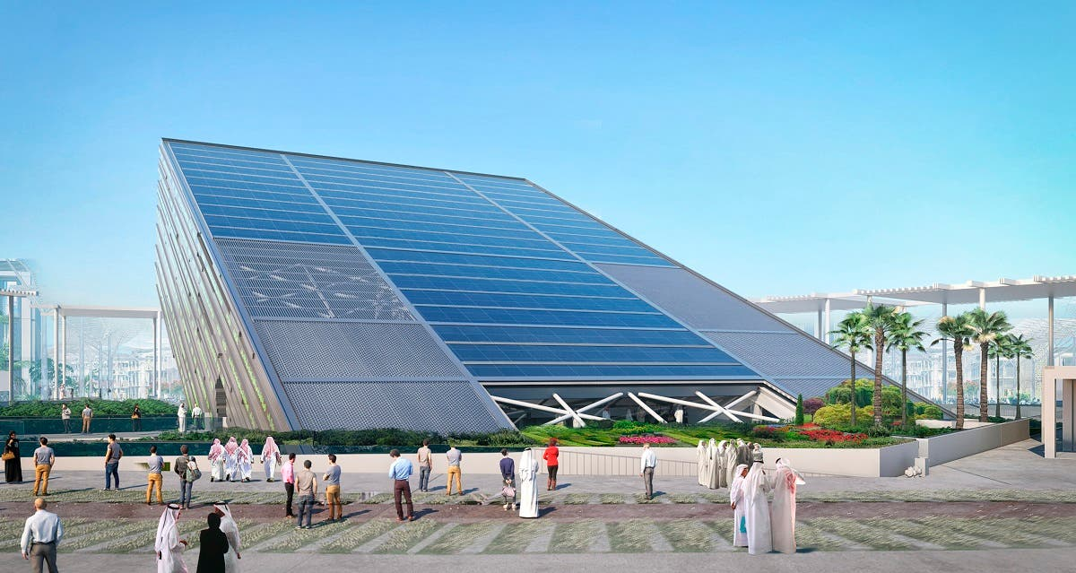 The Saudi Arabia Pavilion, measuring more than 13,000 square meters, will be the second largest at Expo 2020 Dubai, after the UAE Pavilion. (Supplied rendering)