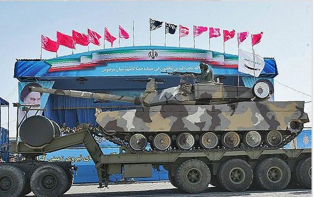 دبابة ذوالفقار الإيرانية هي في الواقع إم 48 باتون وإم60 باتون الأميركيتان