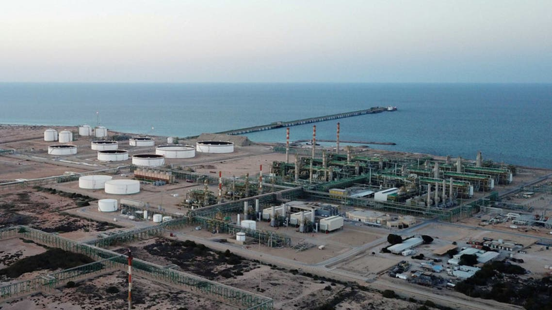 ميناء الحريقة النفطي في ليبيا