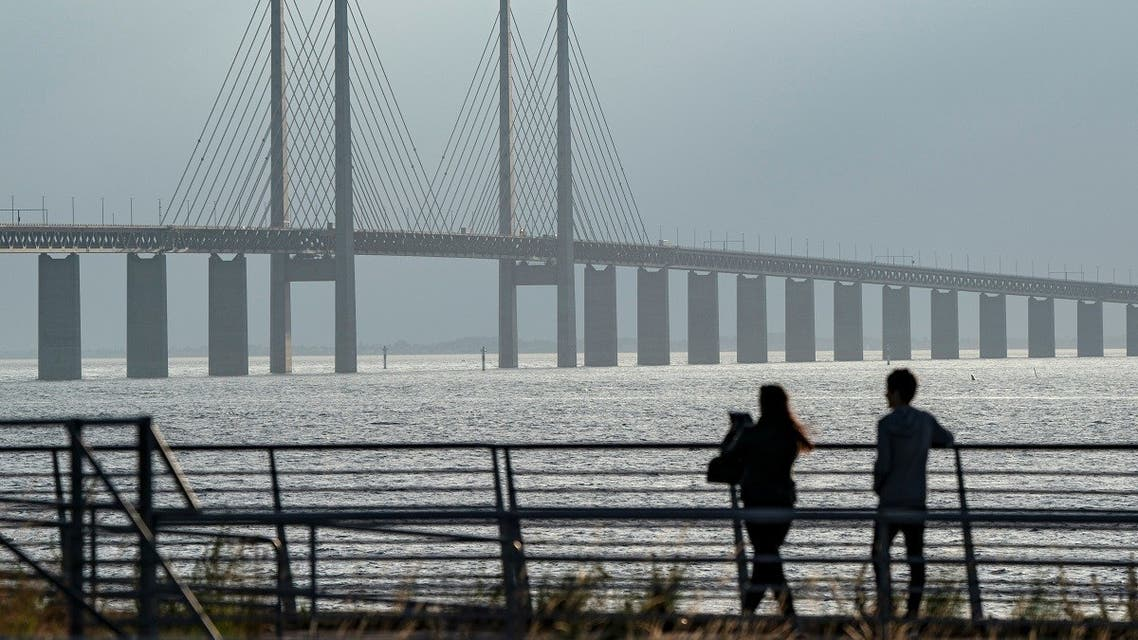 2020-07-01T000The view of the Oresund Bridge from a view point outside Malmo, Sweden. The bridge, which connects Sweden and Denmark. (Reuters)000Z_344011553_RC2MKH92O6I2_RTRMADP_3_SWEDEN-ORESUND