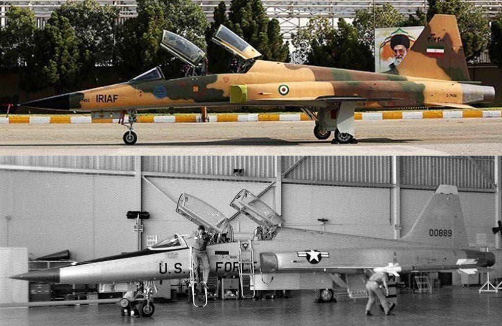 المقاتلة كوثر الإيرانية ما هي إلا المقاتلة الأميركية من إف5 من الجيل الثالث