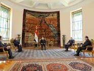 السيسي يبحث مع صالح وحفتر دعم العملية السياسية بليبيا