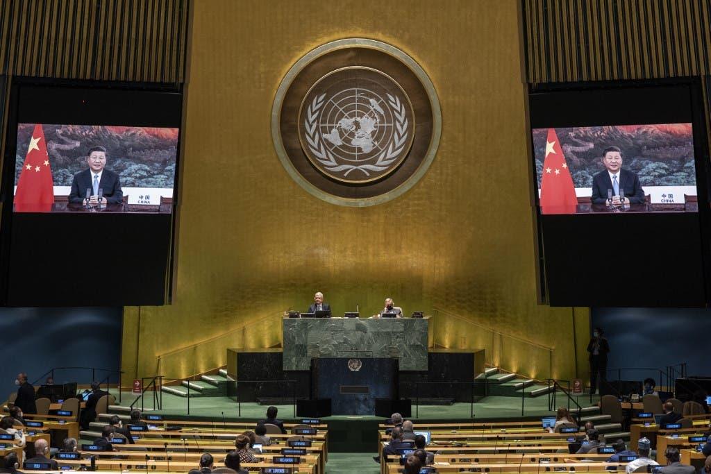 حسن روحاني في الجمعة العامة بالأمم المتحدة - فرانس برس