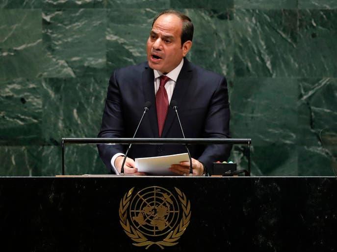 السيسي مجدداً: نرفض أي مساس بحقوق مصر المائية