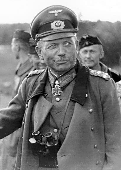 صورة للجنرال الألماني هانز غودريان