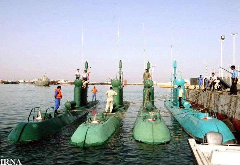 غواصة غدير من صنع إيران
