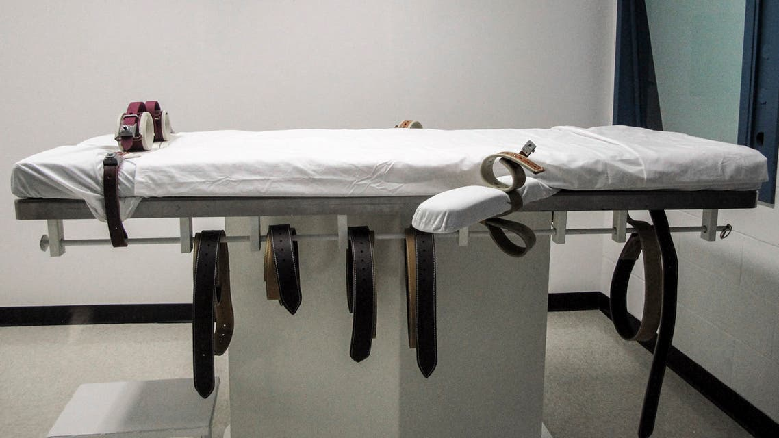 This July 7, 2010, file photo shows Nebraska's lethal injection chamber at the State Penitentiary in Nebraska, US. (AP)