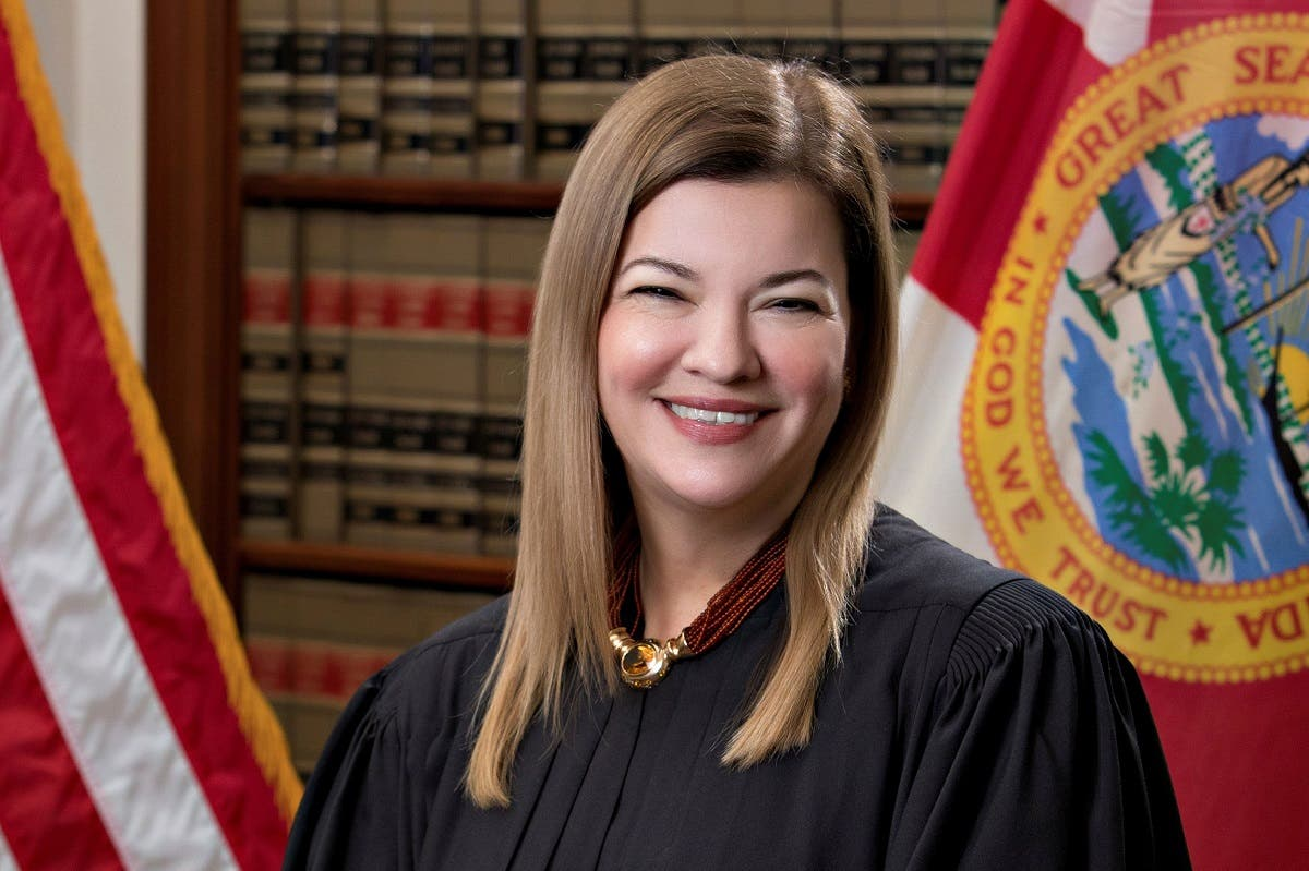 Florida Supreme Court Justice Barbara Lagoa. (File Photo: Reuters)