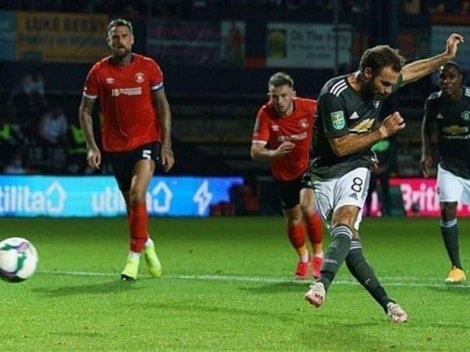 دور چهارم لیگ کاپ بریتانیا؛ منچستریونایتد 0-3 بر لوتون پیروز شد