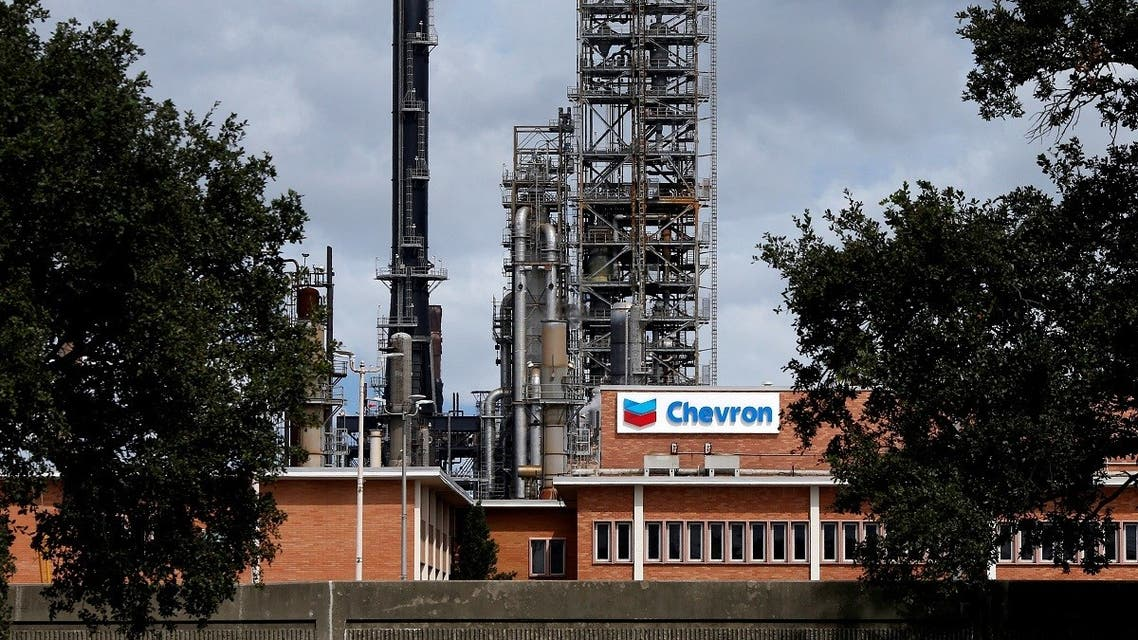 The Chevron Pascagoula Refinery in Mississippi, US. (Reuters)