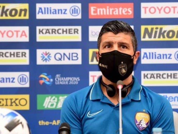 """بيدرو إيمانويل: العين سيواجه """"أفضل فريق"""" في المجموعة"""
