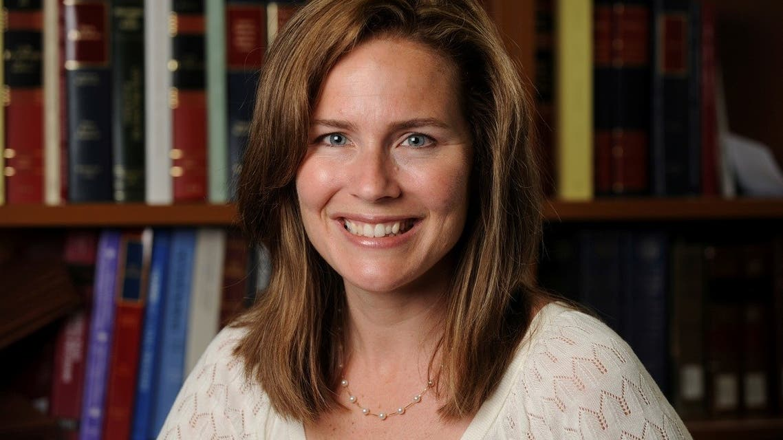 US Court of Appeals for the Seventh Circuit Judge Amy Coney Barrett. (File Photo: Reuters)