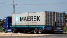 """""""ميرسك"""" تعتزم نقل شحنات بين الإمارات وإسرائيل"""