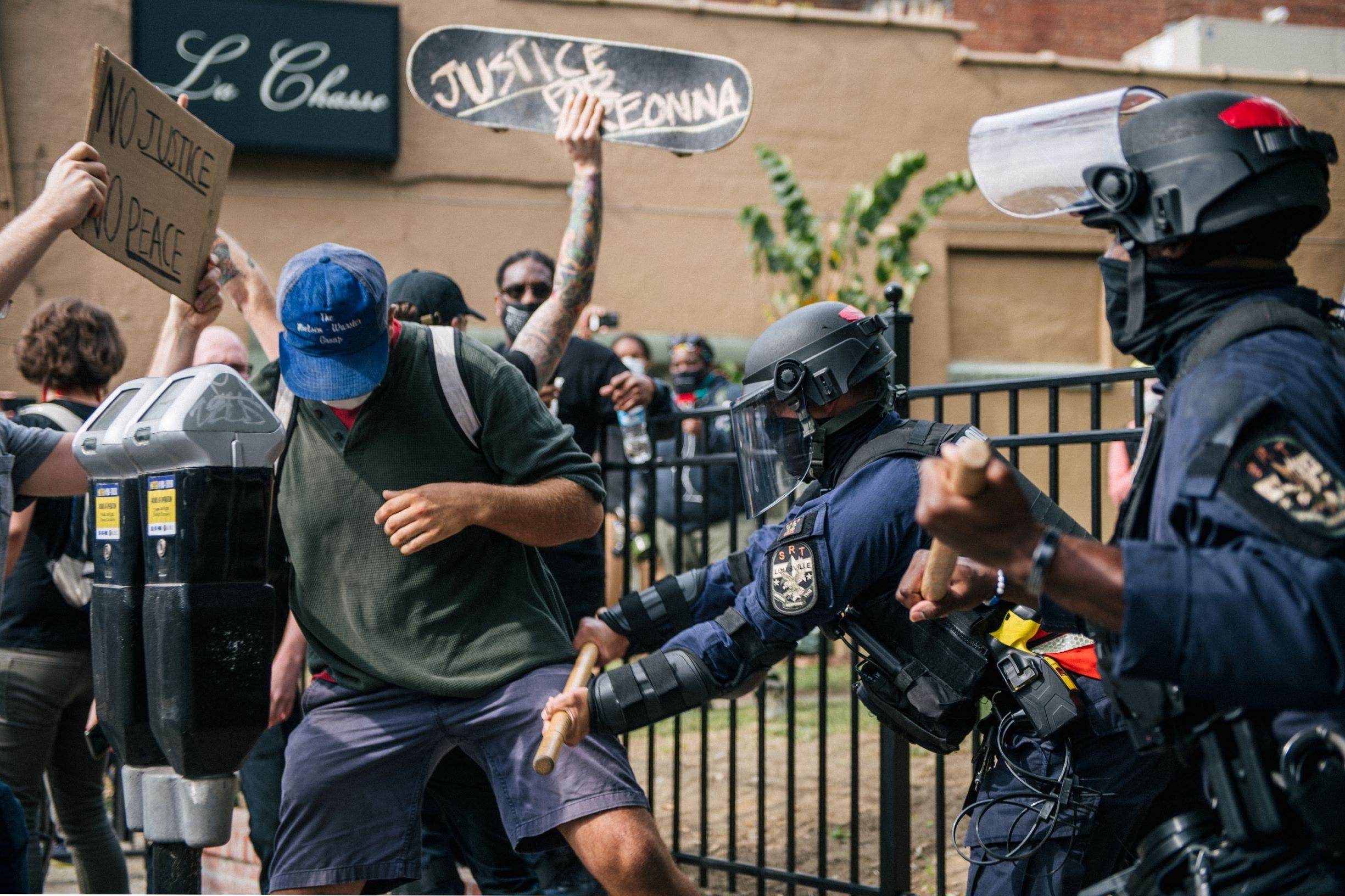 مظاهرات غاضبة