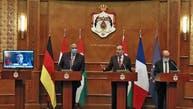 اجتماع رباعي بالأردن.. دعم اتفاقات السلام وتأكيد على حل الدولتين
