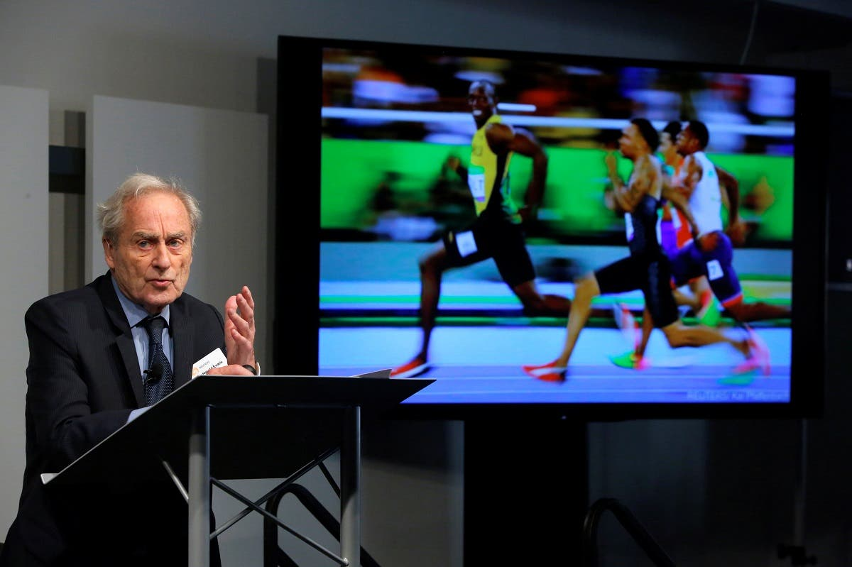 "Reuters Editor-at-Large Sir Harold Evans speaks at the ""Iconic in an Instant? One Trillion Images"" panel event hosted by Reuters and ICP at ICP in Manhattan, New York, US, on December 5, 2016. (Reuters)"