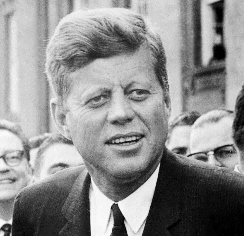 الرئيس الأميركي جون كينيدي
