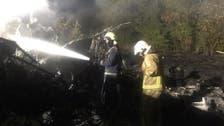 Ukraine's president orders prompt investigation of military plane crash