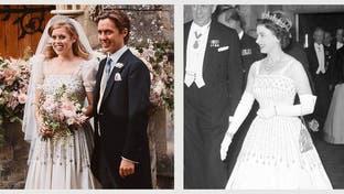 ثوب الملكة وحفيدتها يدخل التاريخ ويُعرض في المتحف
