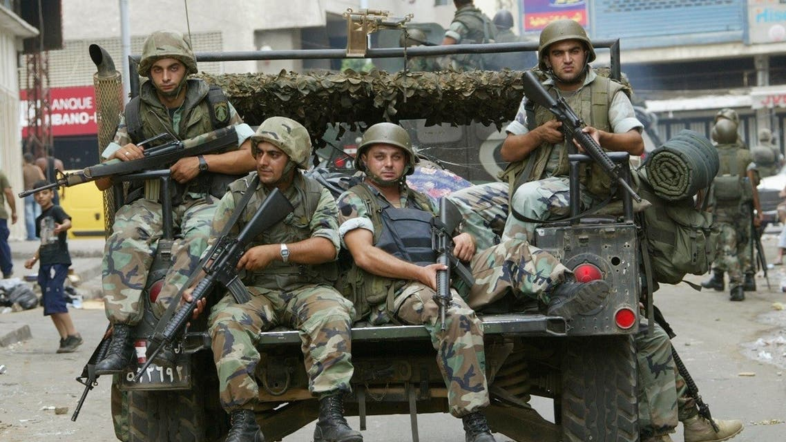 A file photo shows Lebanese soldiers patrol a street in Tripoli northern Lebanon, July 26, 2008. (Reuters)