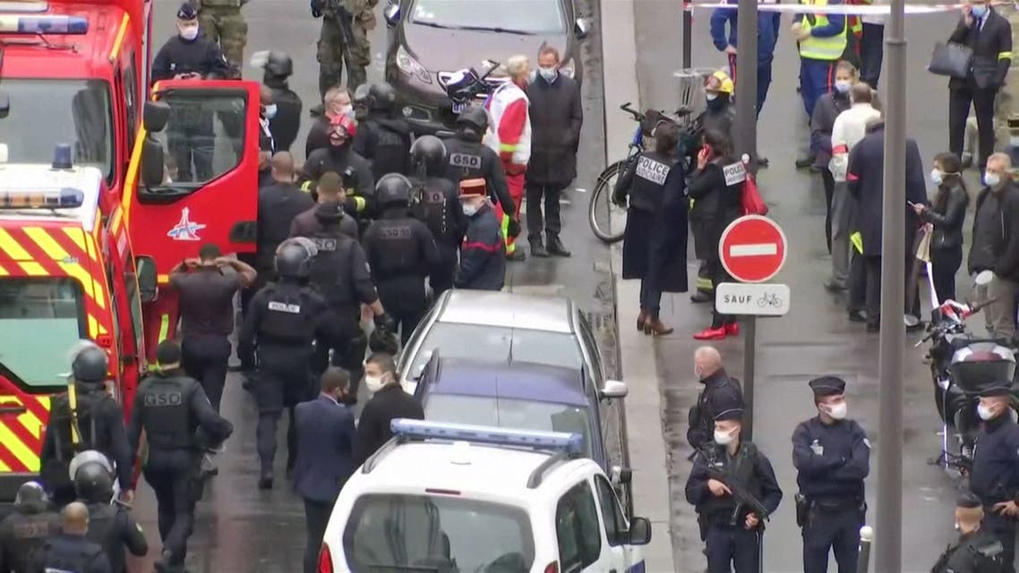 'Charlie' a second time around, say witnesses of Paris knife attack aftermath
