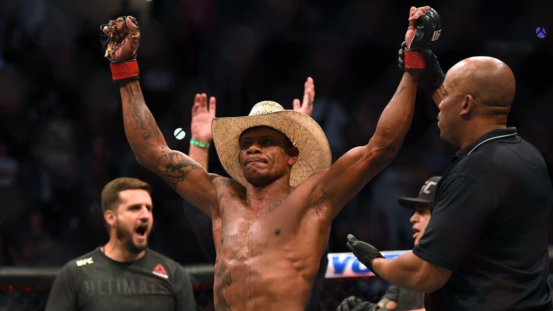 UFC Middleweight Champion Israel Adesanya. (File photo: AFP)
