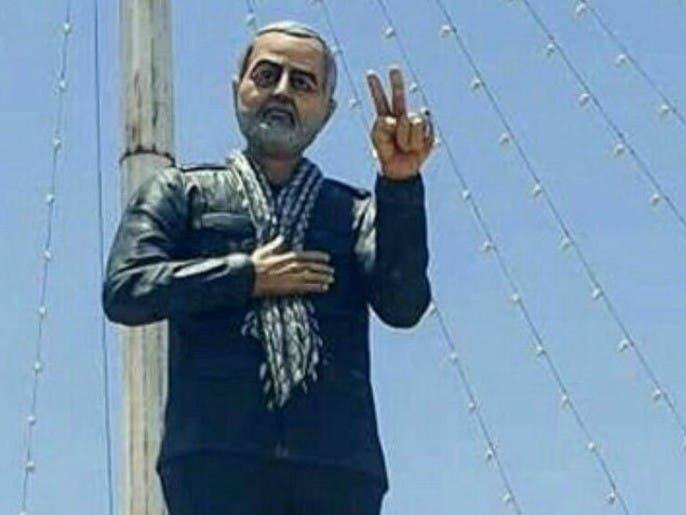 تماثيل سليماني مجدداً.. مسؤول إيراني: تثير الاشمئزاز