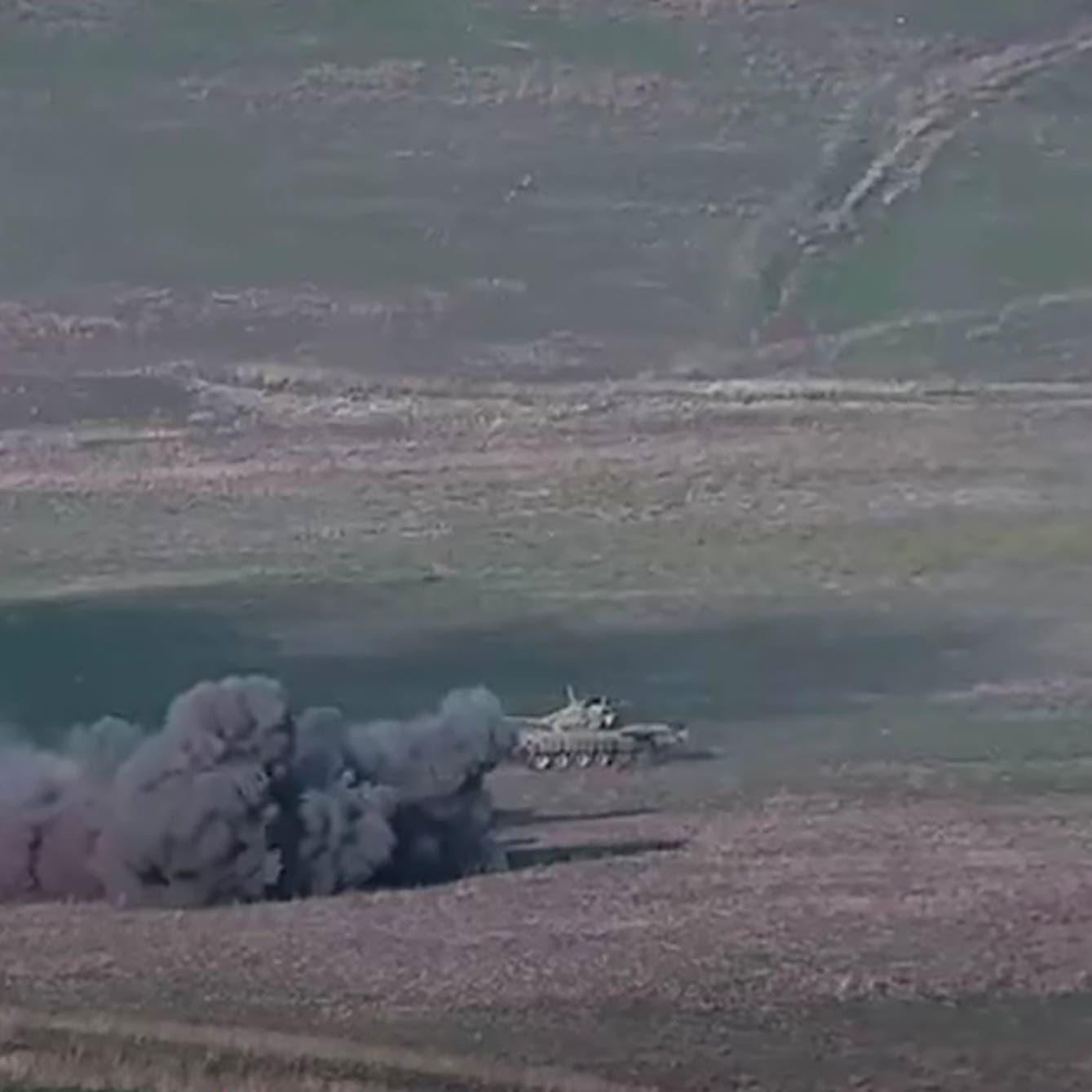 معارك طوال الليل بين أرمينيا وأذربيجان.. وعشرات القتلى