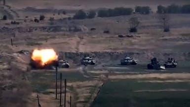 در ادامه تنش نظامی با ارمنستان آذربایجان تصرف منطقهای استراتژیک را اعلام کرد