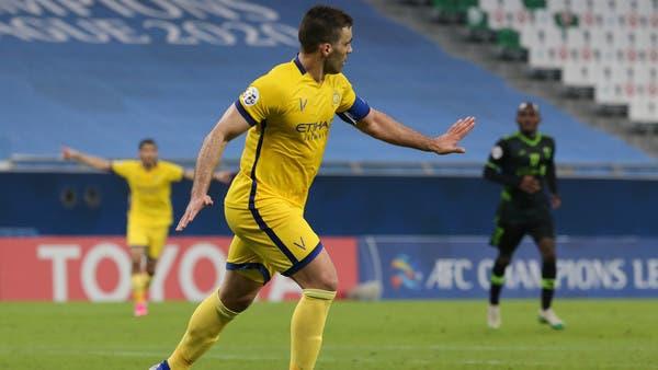 حمدالله يقود النصر إلى ربع نهائي دوري أبطال آسيا