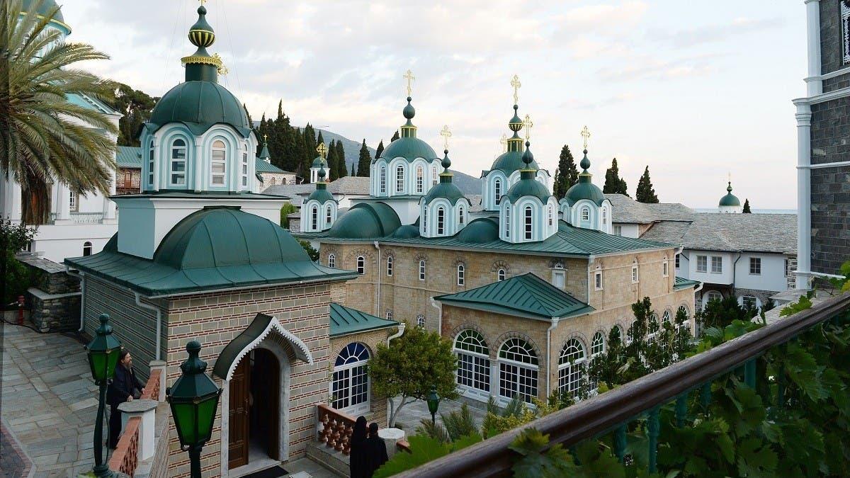Russia's PM visits coronavirus-hit Mount Athos in Greece thumbnail