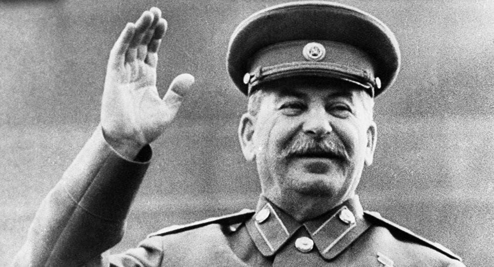 القائد السوفيتي جوزيف ستالين