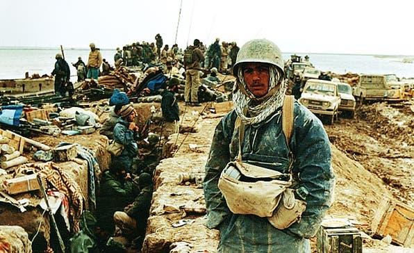 """A shot from the Al Arabiya """"The Iran-Iraq War"""" documentary. (Supplied)"""