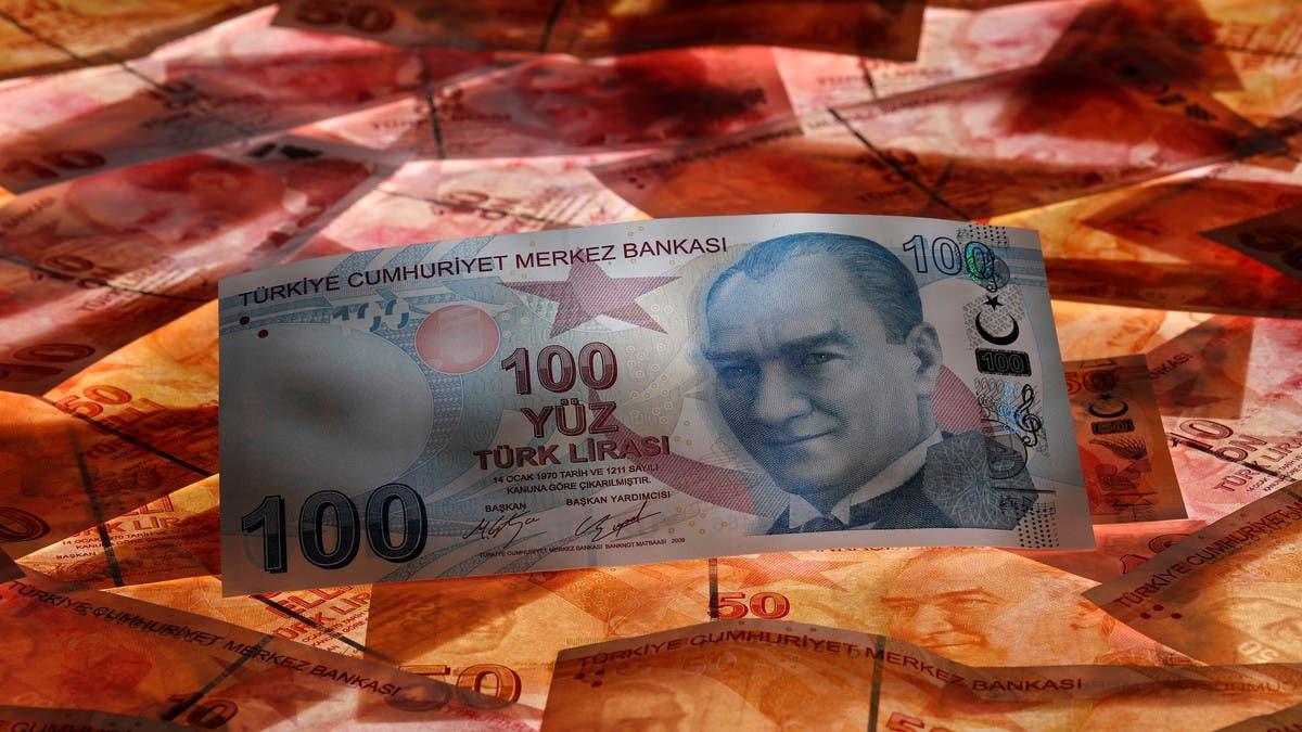 الليرة التركية تبدأ العام الجديد بهبوط قياسي أمام اليورو