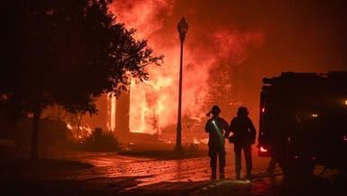 حرائق كاليفورنيا تمتد.. إخلاء مستشفى ومئات المنازل