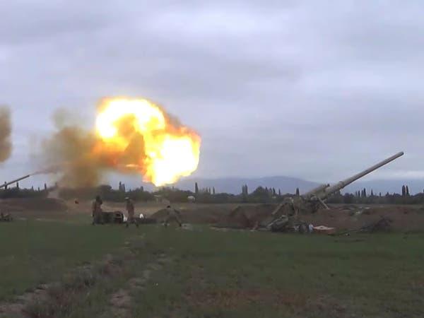 أرمينيا وأذربيجان تنشران مدفعية ثقيلة حول ناغورنو كاراباخ