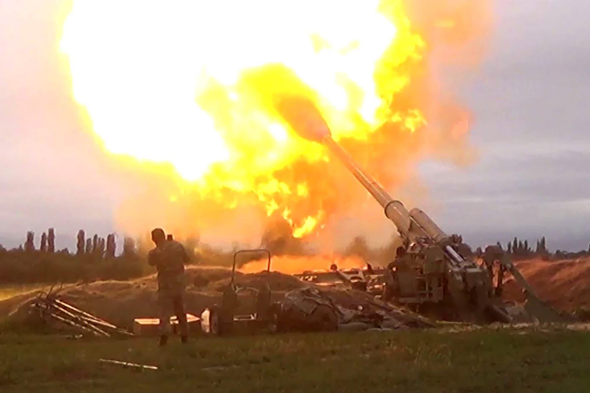 القوات الأذربيجانية يوم 28 سبتمبر