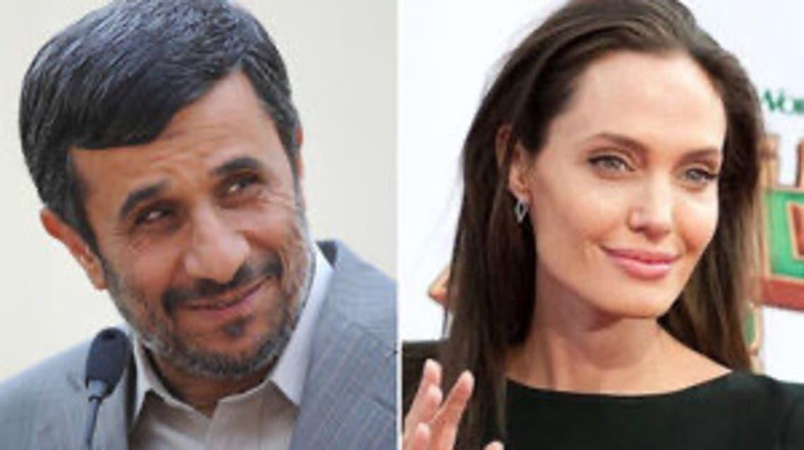 احمدینژاد میخواهد با همکاری آنجلینا جولی اوضاع جهان را درست کند
